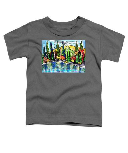 Pacific Coast Forest Toddler T-Shirt