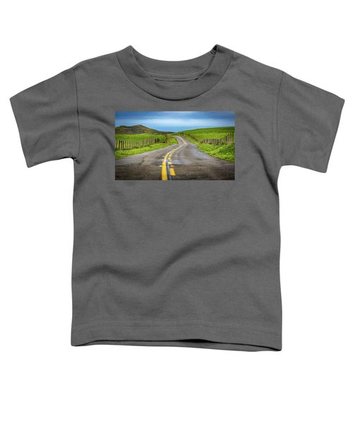 Pacific Coast Road To Tomales Bay Toddler T-Shirt