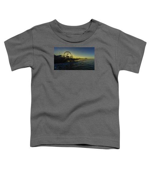 Pacific Park Ferris Wheel Toddler T-Shirt