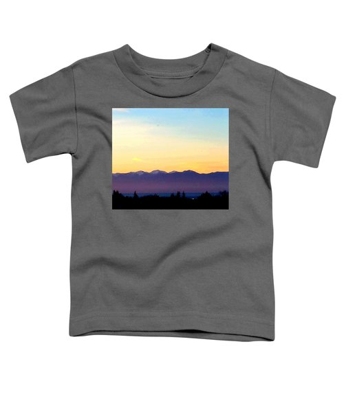 Pacific Twilight Toddler T-Shirt