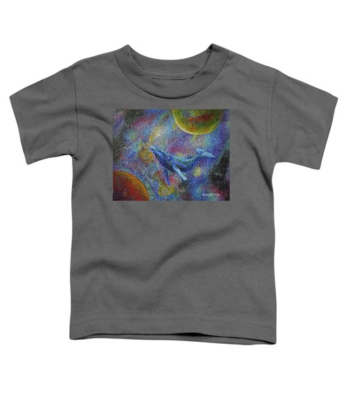 Pacific Whale In Space Toddler T-Shirt