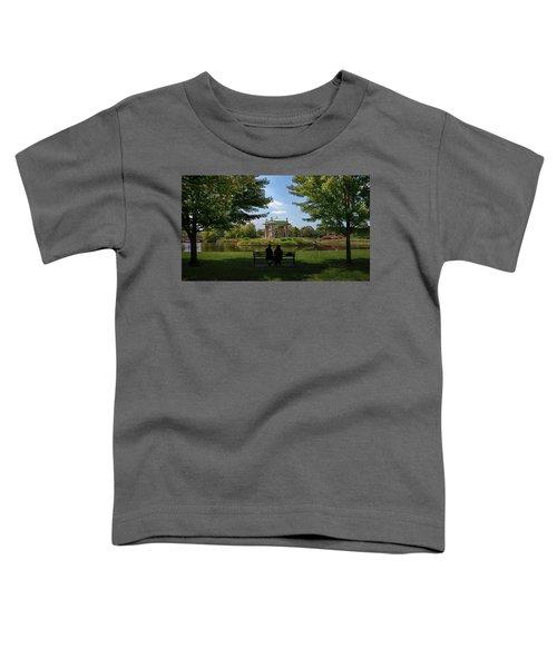 Pagoda Circle Interlude Toddler T-Shirt