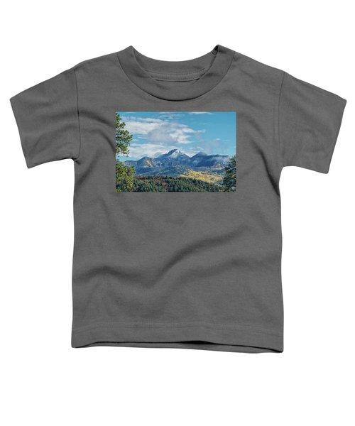 Pagosa Peak Autumn 2014 Toddler T-Shirt