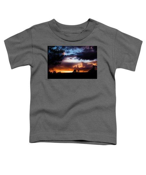 Pagosa Sunset 11-20-2014 Toddler T-Shirt