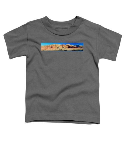 Painted Hills Extreme Pano  Toddler T-Shirt