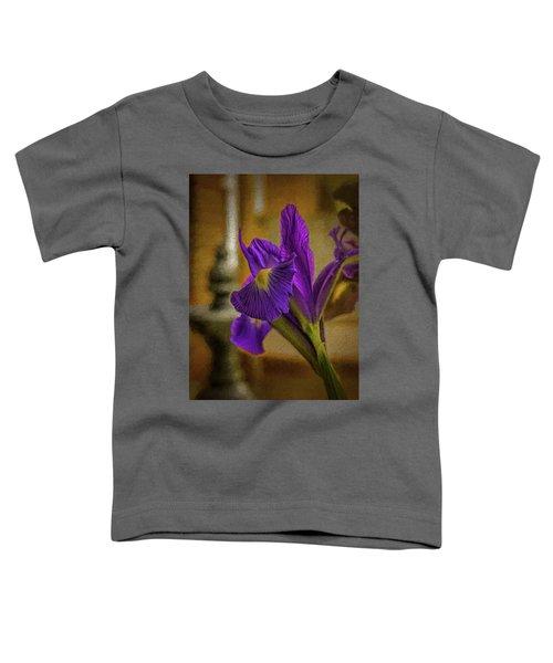 Painted Iris Toddler T-Shirt