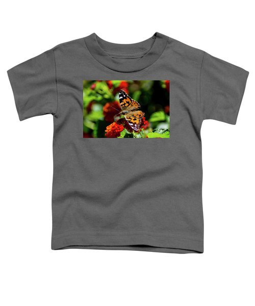Painted Lady Butterfly Toddler T-Shirt