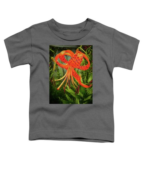 Painted Tiger Toddler T-Shirt