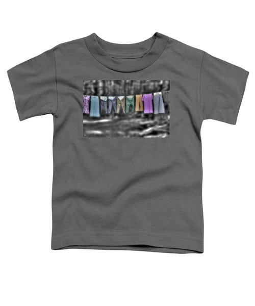 Painted Washline In Plymouth Nh Toddler T-Shirt