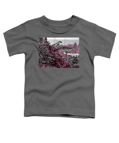 Painting The Town Red Toddler T-Shirt