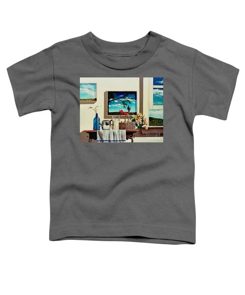Paintings Within A Painting Toddler T-Shirt