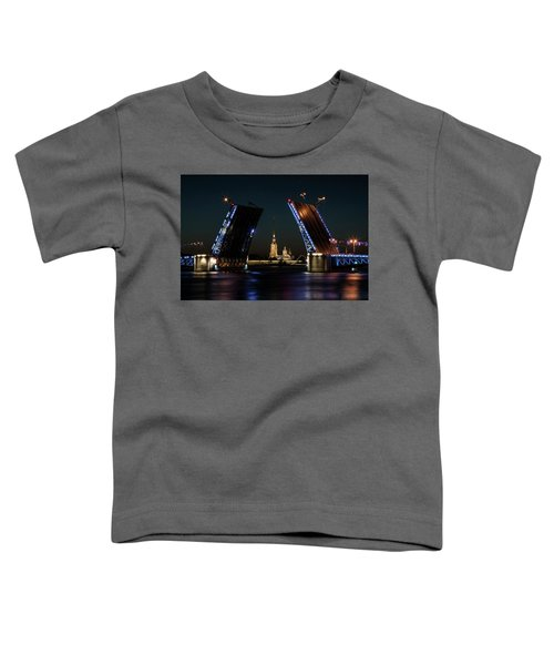 Toddler T-Shirt featuring the photograph Palace Bridge At Night by Jaroslaw Blaminsky