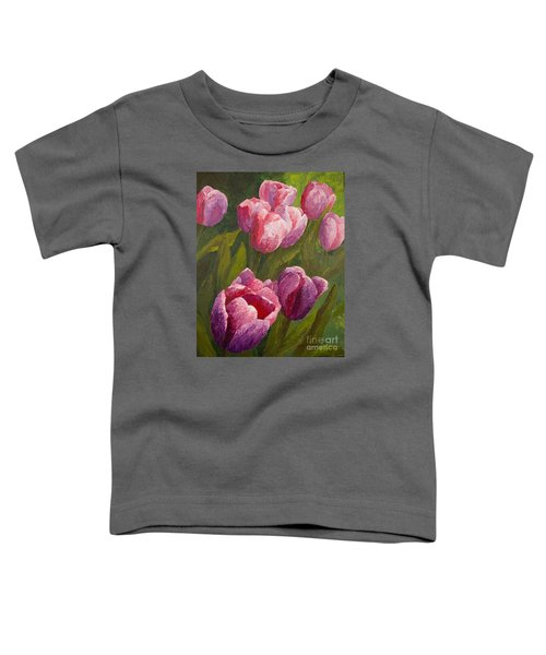 Palette Tulips Toddler T-Shirt