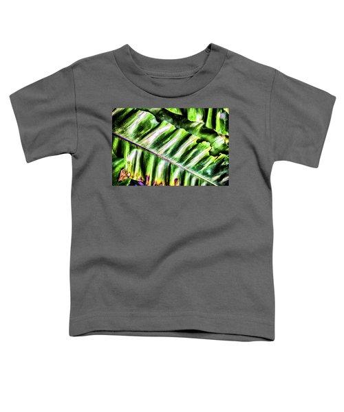 Palm Fronds Up Close Toddler T-Shirt