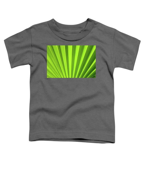 Palm Leaf Abstract Toddler T-Shirt