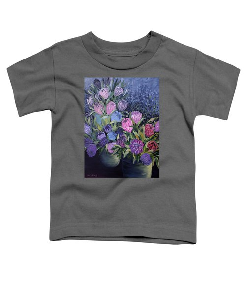 Toddler T-Shirt featuring the painting Palm Springs Market Favorites by Joanne Smoley