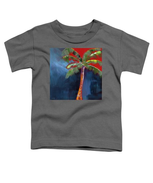 Palm Tree- Art By Linda Woods Toddler T-Shirt