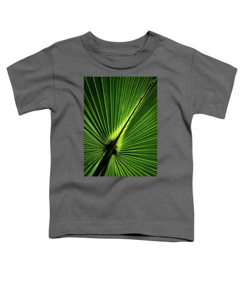 Palm Tree With Back-light Toddler T-Shirt