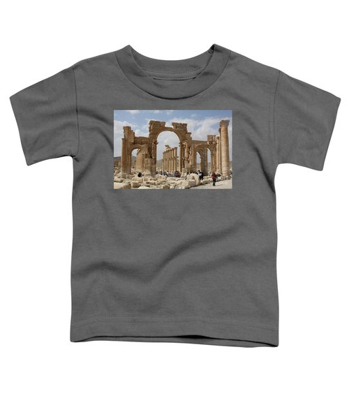 Palmyra Before...triumphal Arch Toddler T-Shirt