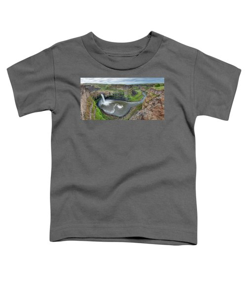 Palouse Falls In The Spring Toddler T-Shirt