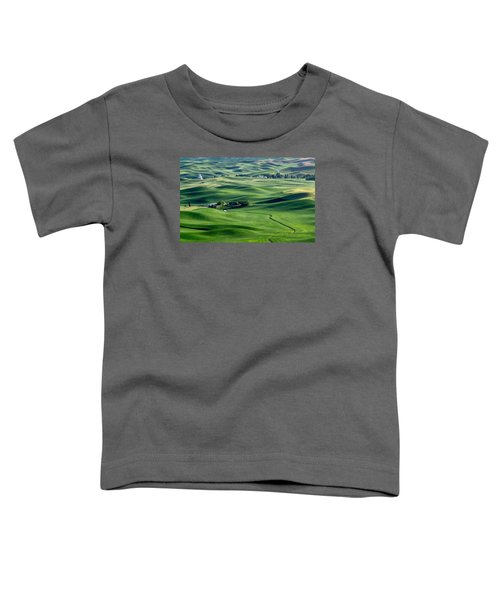 Palouse Wheat Farming Toddler T-Shirt