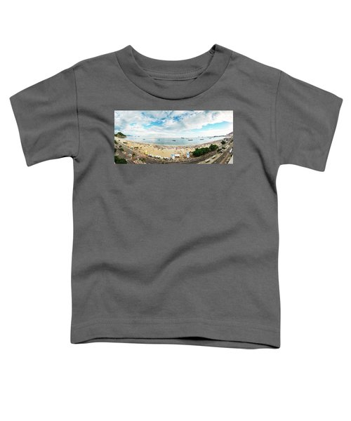 Panorama Of Copacabana, Rio De Janeiro, Brazil  Toddler T-Shirt