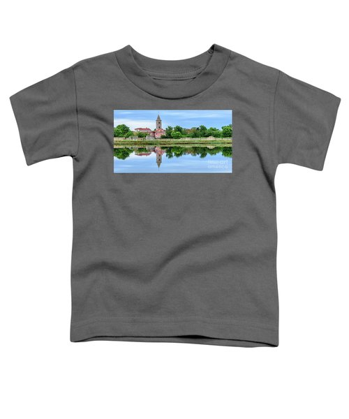 Panoramic Reflections Of Nin, Croatia Toddler T-Shirt