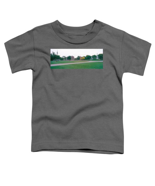 Panoramic View Of The Campus Toddler T-Shirt