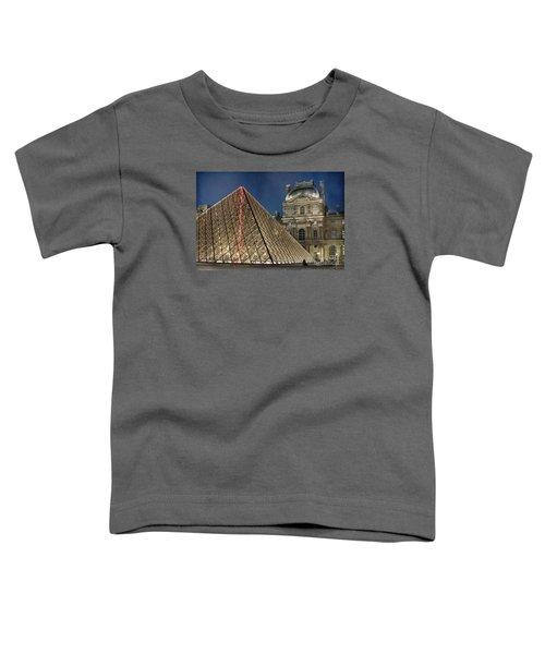 Paris Louvre Toddler T-Shirt by Juli Scalzi