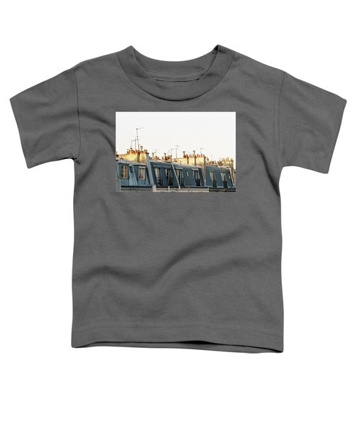 Paris Rooftops Toddler T-Shirt