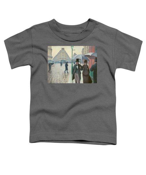 Paris Street Toddler T-Shirt