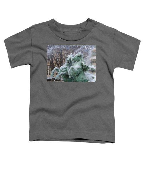 Paris Winter Toddler T-Shirt