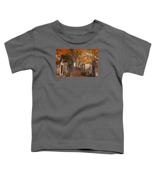 Parisian Fall Toddler T-Shirt