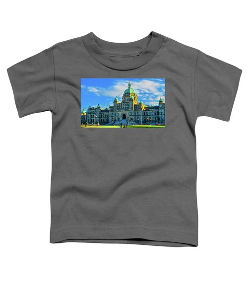 Parliament Victoria Bc Toddler T-Shirt