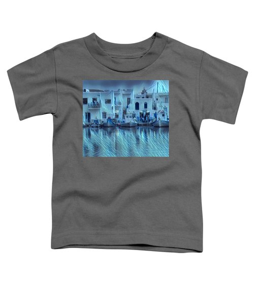 Toddler T-Shirt featuring the photograph Paros Island Beauty Greece by Colette V Hera Guggenheim