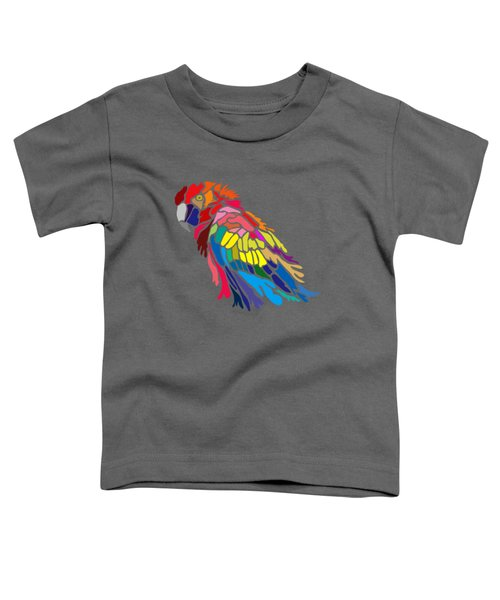 Parrot Beauty Toddler T-Shirt by Anthony Mwangi