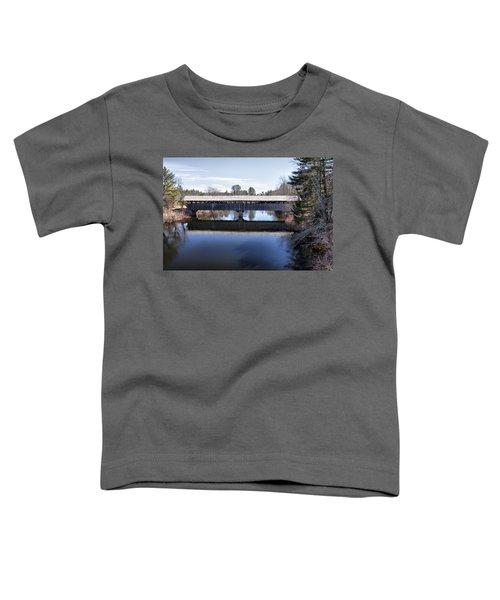 Parsonfield Porter Covered Bridge Toddler T-Shirt