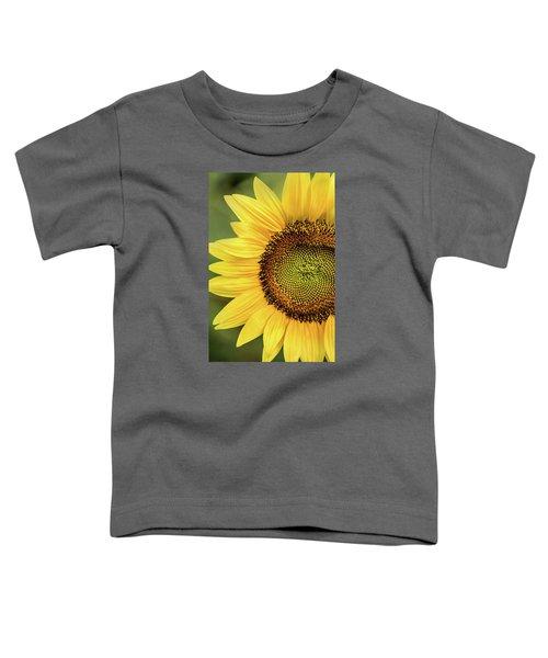 Part Of A Sunflower Toddler T-Shirt