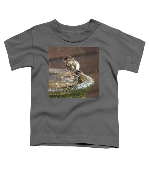 Pass The Towel Please: A House Sparrow Toddler T-Shirt