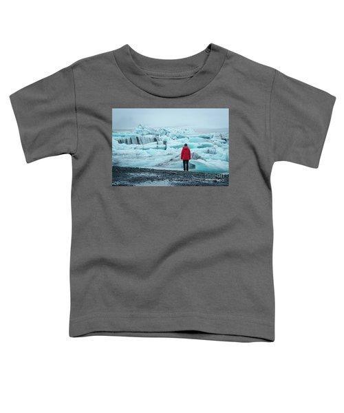 Passing Icebergs  Toddler T-Shirt