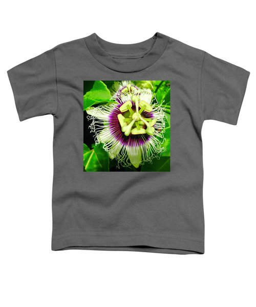 Passion Flower 1 Toddler T-Shirt