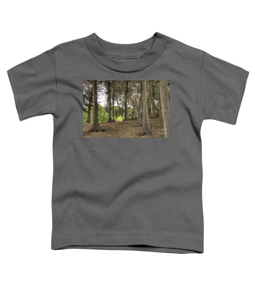 Past The Beach And Through The Trees Toddler T-Shirt