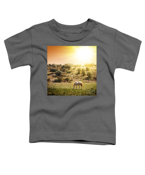 Pasturing Horse Toddler T-Shirt
