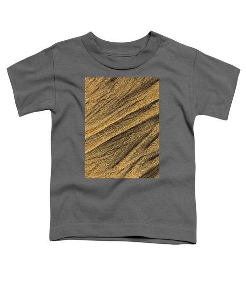 Paterns In The Sand Toddler T-Shirt