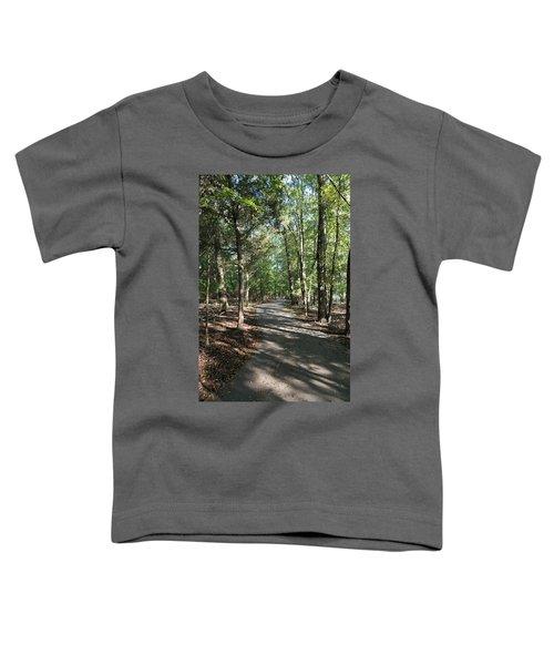Path Around Lake Toddler T-Shirt