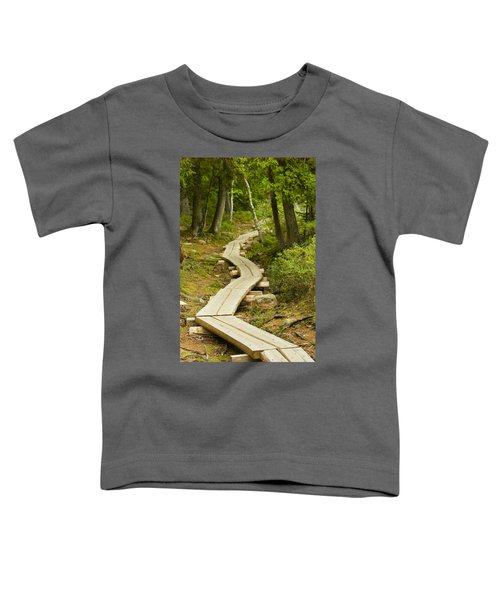Path Into Unknown Toddler T-Shirt