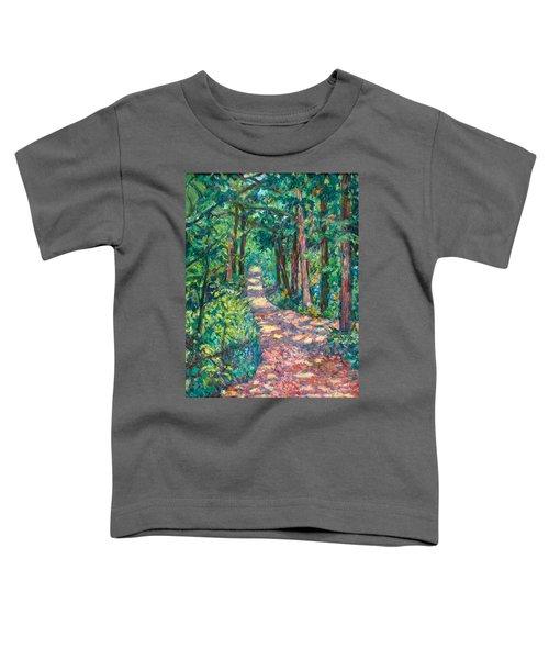Path On Sharp Top Toddler T-Shirt