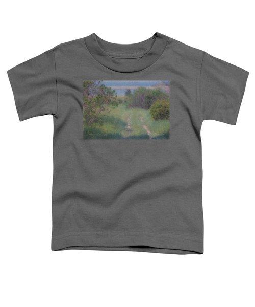 Path To The Sea - Duxbury Ma Toddler T-Shirt