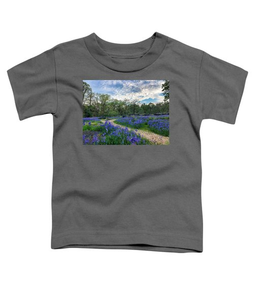 Pathway Through The Flowers Toddler T-Shirt