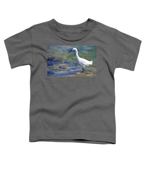 Patient Egret Toddler T-Shirt